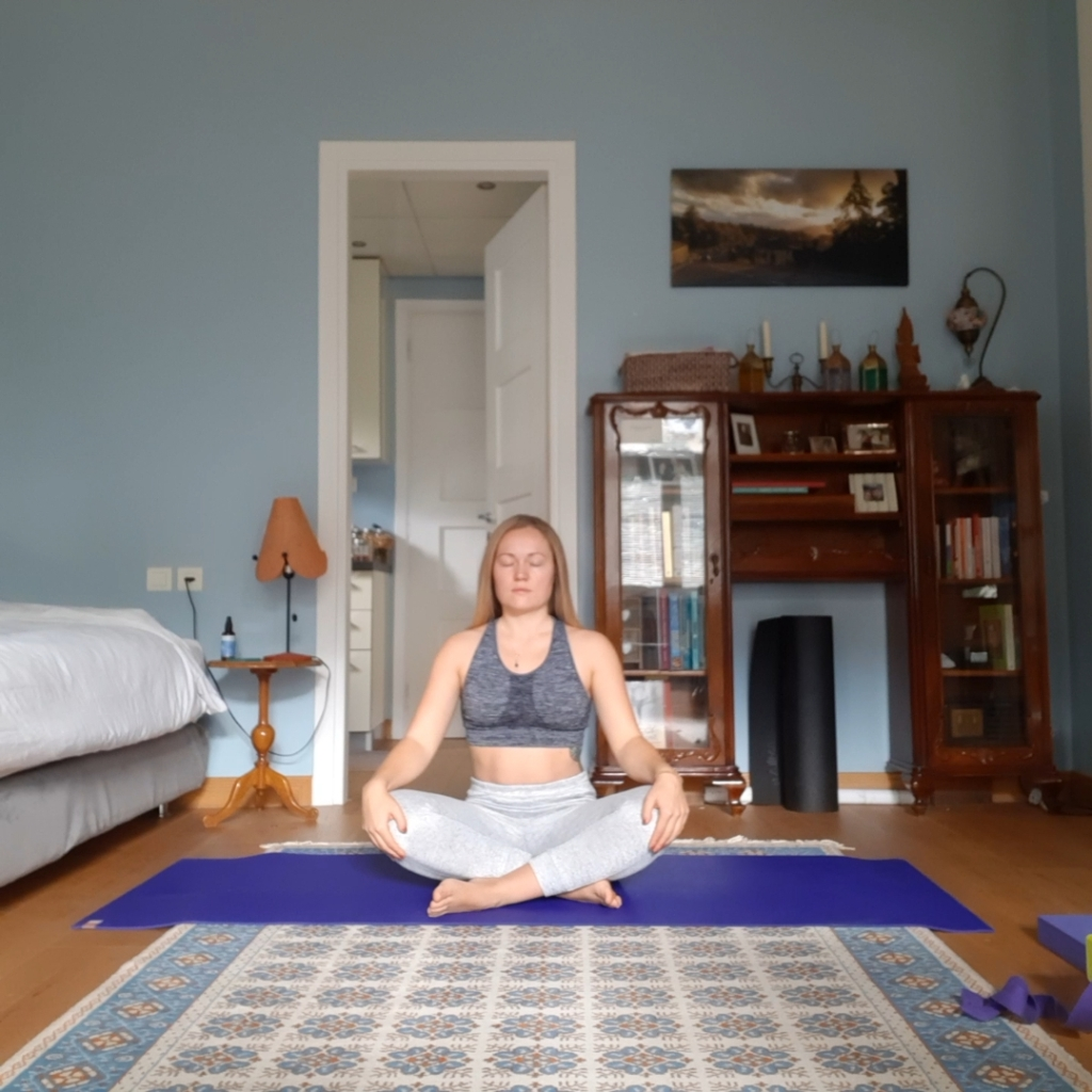 yoga for self awareness - sukasana