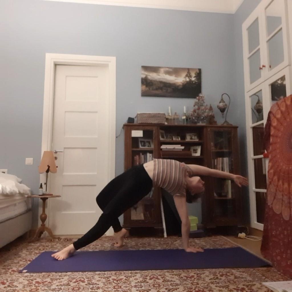 heart opening yoga - wild thing