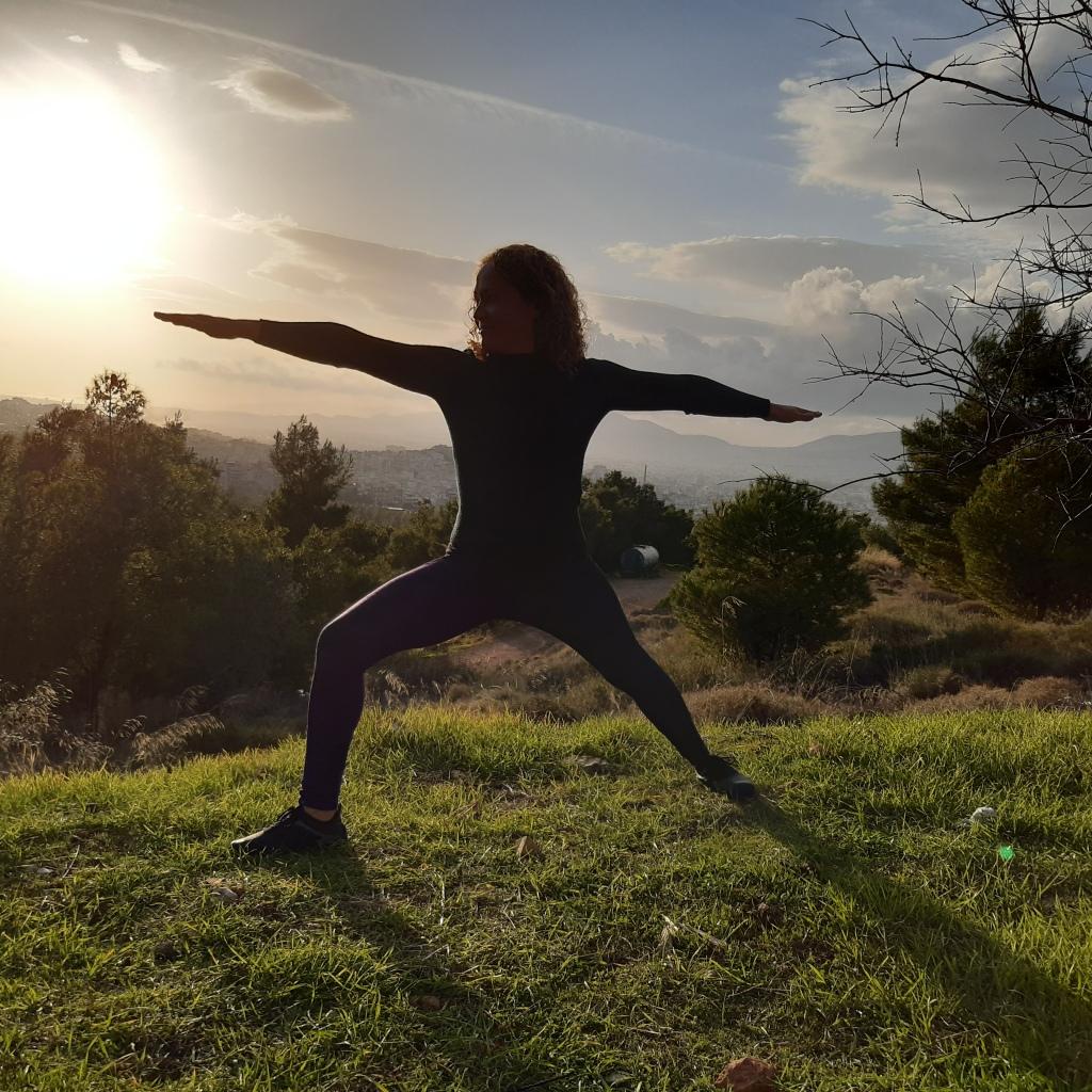 yoga in nature warrior 2