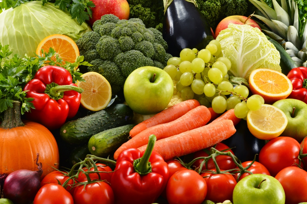 cooling foods fruits and vegetables